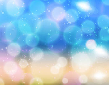 Blurry Bokeh Light Shiny Background - vector gratuit #165911