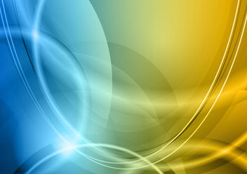 Abstract Creative Shades & Curves Background - бесплатный vector #165971