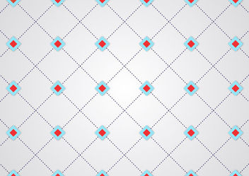 Abstract Dotted Line Geometric Crossing Pattern - vector gratuit #166241
