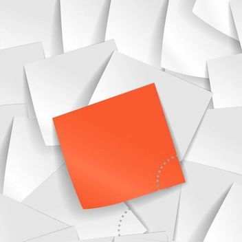 Piles of Realistic Sticky Notes Background - vector #166891 gratis