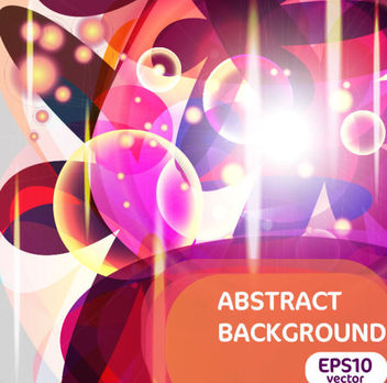 Abstract Colorful Trend of Bright Halo Background - Free vector #167361