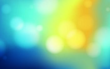 Colorful Background with Blurry Bokeh Bubbles - vector gratuit #167481