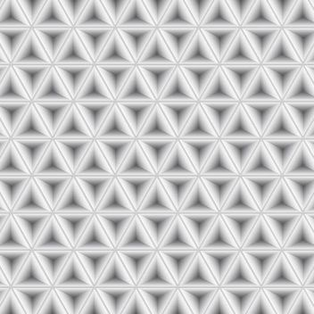 Abstract Light Grey Geometric Pattern - vector #167541 gratis