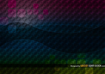 Dark abstract background pattern - vector gratuit #167571
