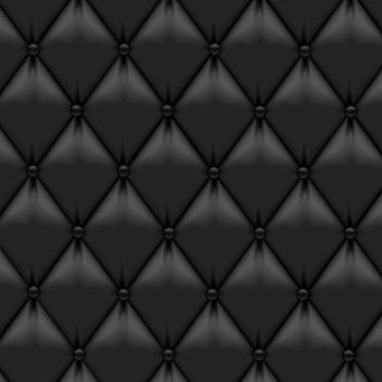 Realistic Black Upholstery Leather - vector gratuit #167601
