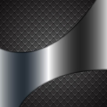 Abstract Metallic Checker Background with Shade - vector gratuit #167621