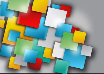 Abstract Squares Background - vector gratuit #167721