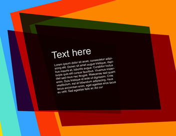 Multicolor Flashy Rectangles Background - vector gratuit #167731