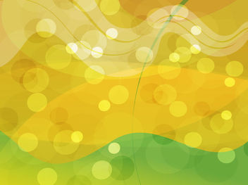 Gold Green Abstract Glowing Background - vector #167771 gratis