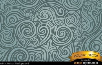 Swrily Artistic Background - Free vector #168201