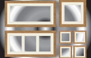 Realistic Window and Corridor Pack - vector #168241 gratis