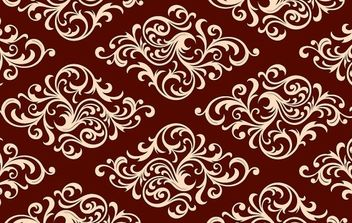 Floral Decorative Swatch Pattern - vector #168251 gratis