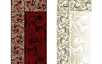 Vintage Flourish Ornamental Pattern - Free vector #168261