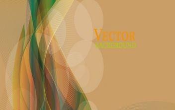 Abstract colorful vector wave - Free vector #168401