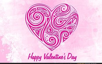 Hearts Valentines Day - vector gratuit #168431