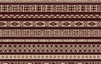 Ethnic Pattern - vector gratuit #168491