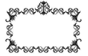 Victorian Style Frame - Kostenloses vector #168591