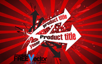 Vector Grunge title - Free vector #168711