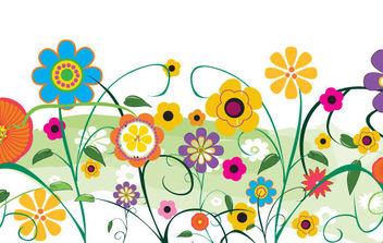 Vector flowers and florals - Free vector #168821