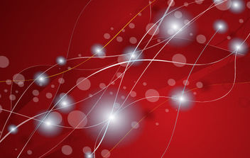 Stars abstract red vector - Kostenloses vector #168851