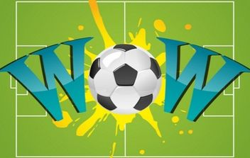 Wow With Soccer Ball - Free vector #168931
