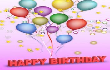 Vector Happy Birthday - Kostenloses vector #168941