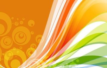 Vector Abstract Wave Background - Free vector #168981
