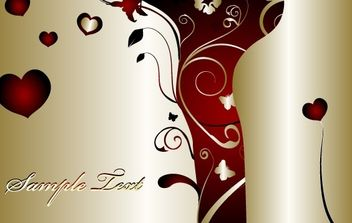 Valentine Day Design - vector gratuit #169331