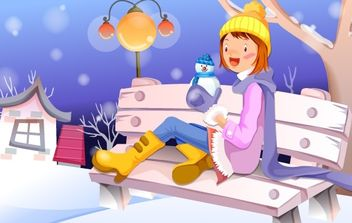 Xmas Moments 14 - vector gratuit #169481