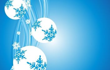 Christmas Background - vector #169551 gratis