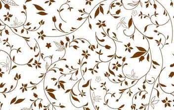 Free Floral Pattern - Kostenloses vector #170001