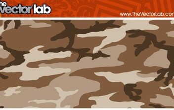 Brownie Camouflage Pattern - vector gratuit #170231