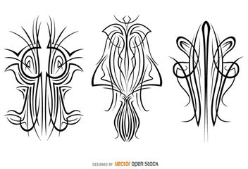 Pinstripes Design - vector gratuit #170291