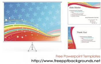 Abstract Powerpoint Design Templates - Free vector #170951