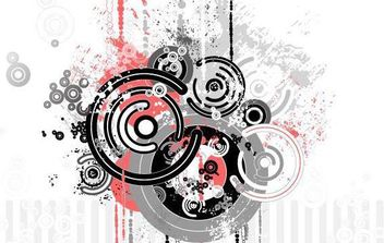 Trend Circle Vector Graphic - бесплатный vector #171081