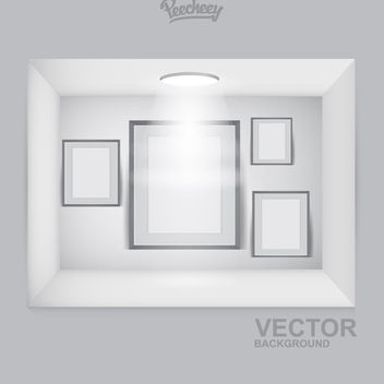 Frames Interior Decoration Spotlight - vector gratuit #171421
