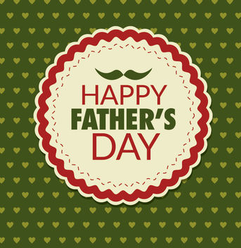 Father's day Design - vector #171431 gratis