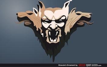 Draculas Ornament - Free vector #172191