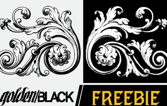 Flourishes Vol. 2: Sample - Free vector #172221