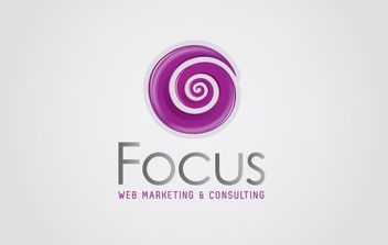 Web Marketing Logo 01 - Free vector #172231
