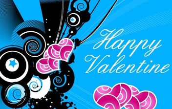Happy Valentine Vector - Free vector #172401