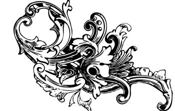 Baroque Ornament Vectors Vol1 - vector gratuit #172641