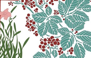 Floral illustration - Free vector #172701