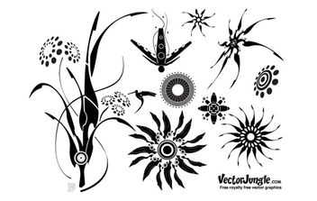 Cyber Plant Life - Free vector #172801