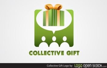 Collective Gift Logo - vector gratuit #173911