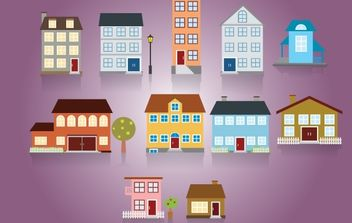 Mix House Pack - vector #174011 gratis