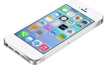 Realistic iPhone5 with UI of IOS7 - Free vector #174301