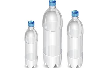 High Detail Vector Bottles - бесплатный vector #174321