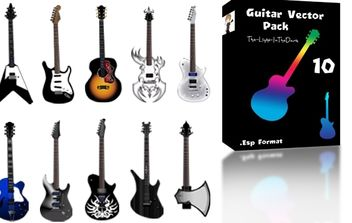 Various Vector Guitar - бесплатный vector #174581