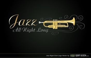 Jazz Night Club - vector gratuit #174701